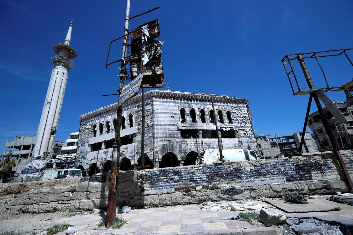 Las autoridades sirias afirman que han interceptado varios misiles
