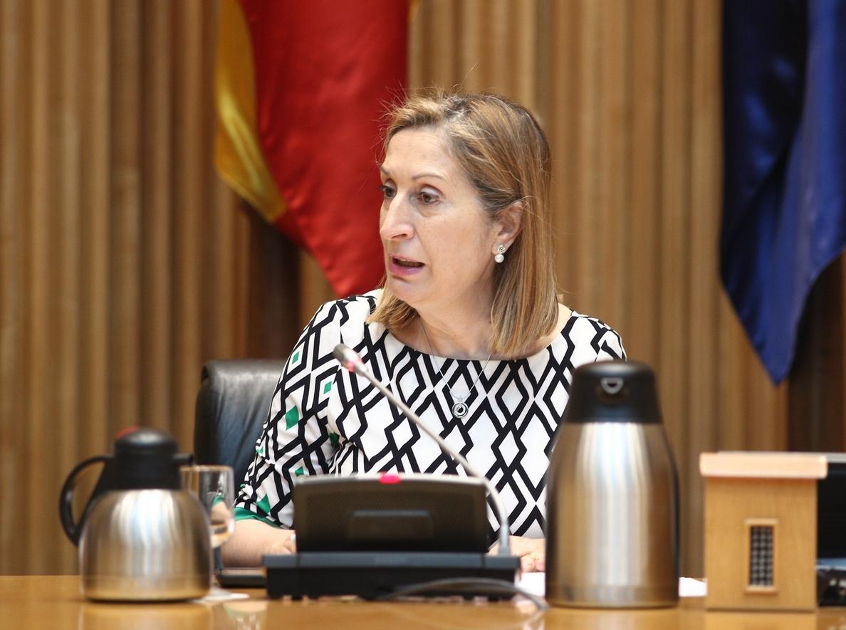 Ana Pastor, sobre el número de comisiones que funcionan en el Congreso: «Hay que medir las fuerzas»