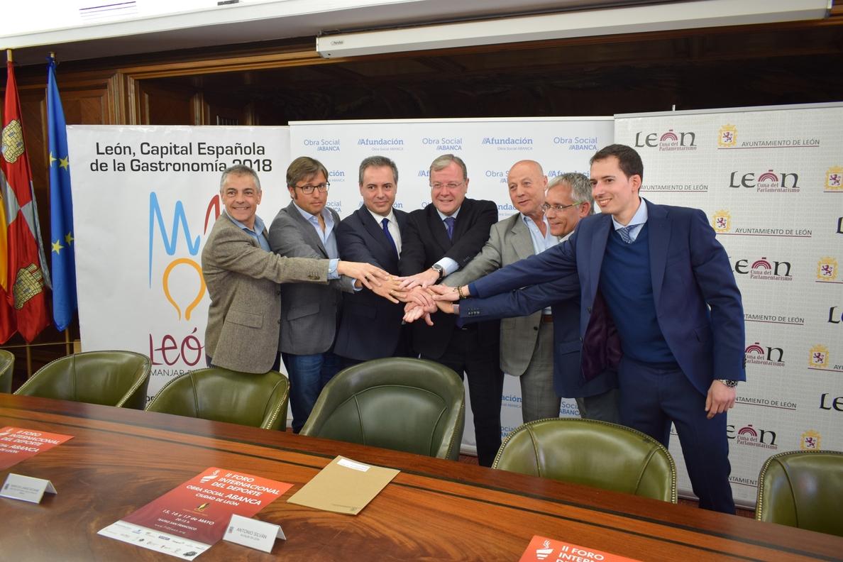 Destacados deportistas impulsarán los valores deportivos en el II Foro Internacional del Deporte de León
