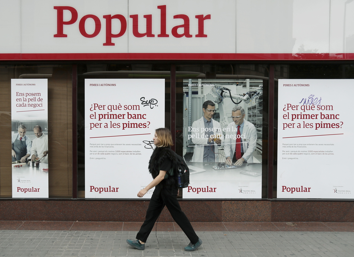 Dictan la primera sentencia firme que anula la compra de acciones del Popular