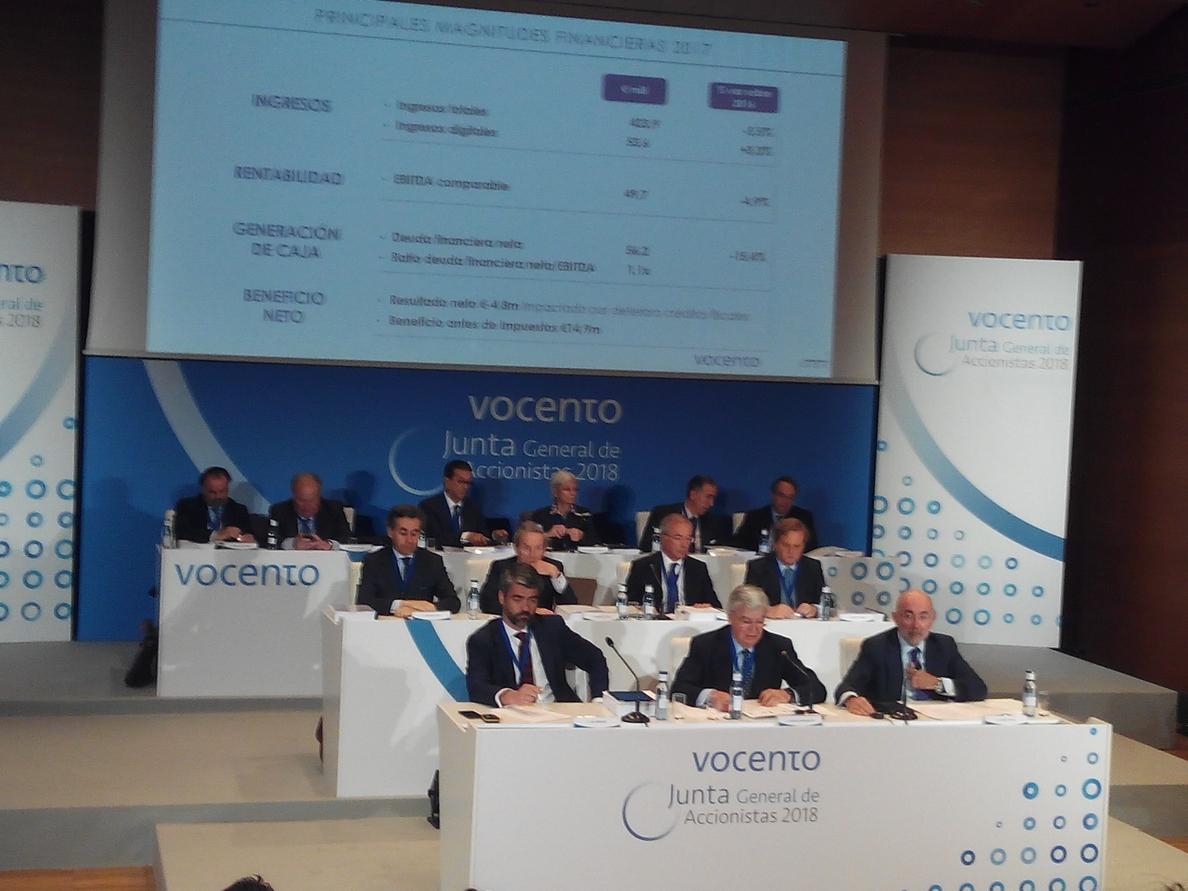 Enríquez (Vocento) dice que los contenidos de Vocento «no deben ser tenidos como gratuitos»