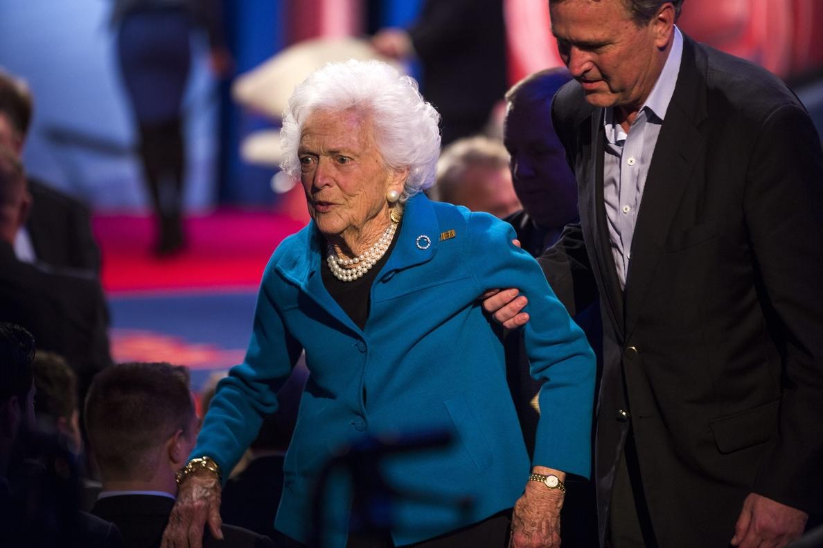 Muere la ex primera dama de EEUU Barbara Bush a los 92 años