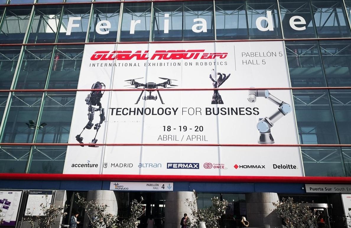 La III edición de Global Robot Expo busca situar a las empresas españolas a la vanguardia de Europa