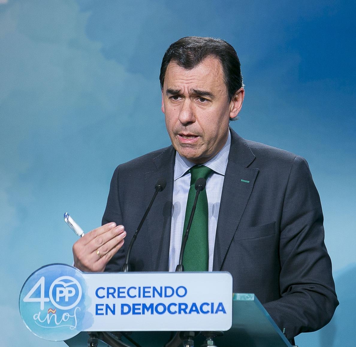 Maillo dice que confían en que el PNV apoye los Presupuestos: «No hay nada conseguido pero somos optimistas»
