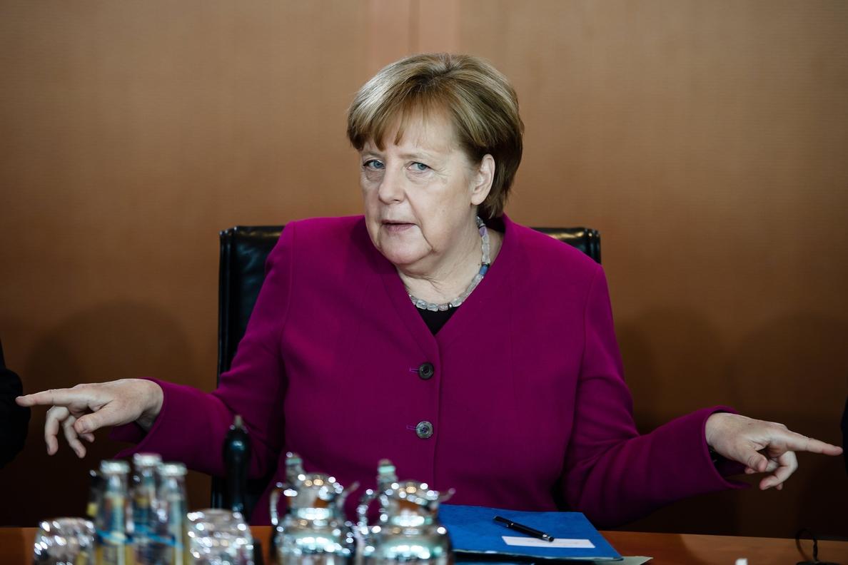 Merkel se reunirá con Trump el 27 de abril en Washington
