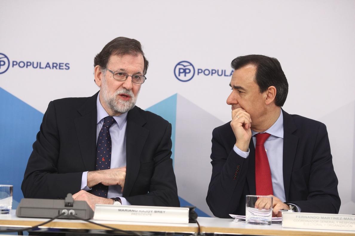El PP ve «muy solvente» el auto del Supremo que rebate al tribunal alemán al avalar imputar a Puigdemont por rebelión