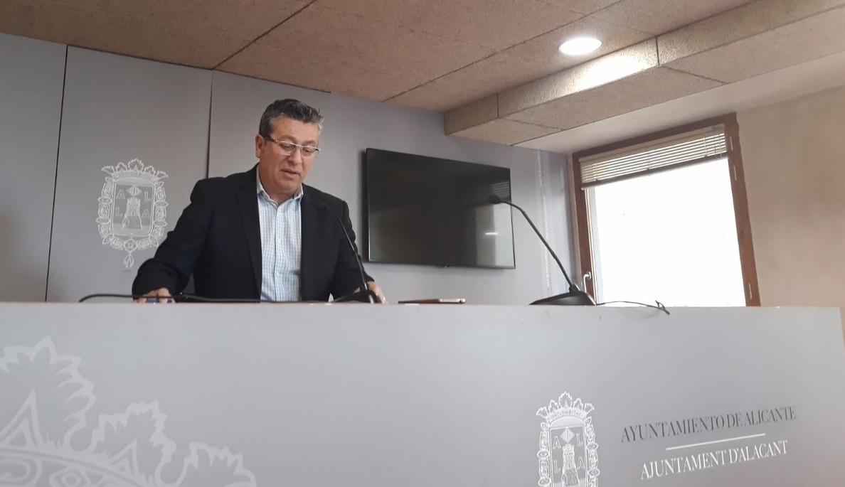El PSPV se muestra «seguro» de que Eva Montesinos será alcaldesa de Alicante este jueves y pide «cordura y sensatez»