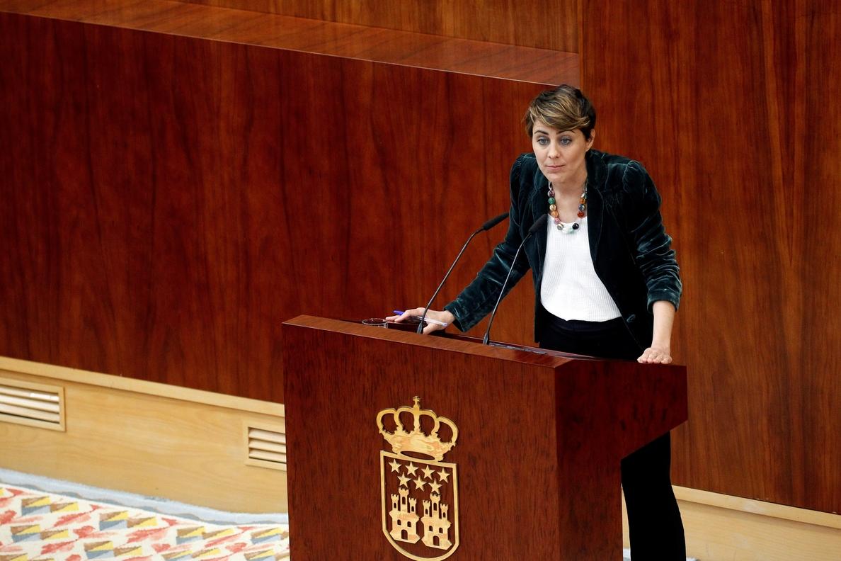 Podemos: No hay fecha para la moción en la Asamblea a la espera de qué dice Rajoy