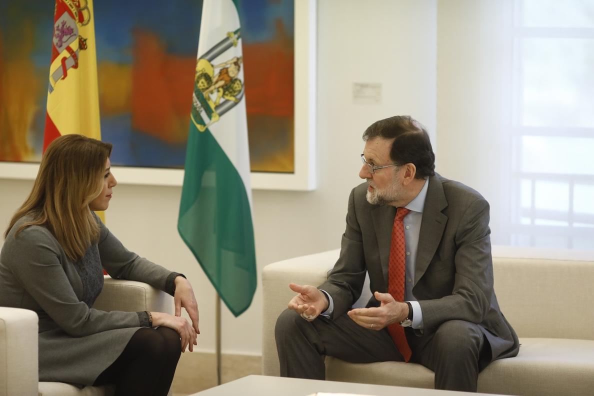Rajoy se compromete a convocar el CPFF sobre financiación autonómica «de manera inminente», según Susana Díaz