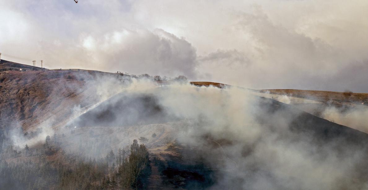 Cantabria activa el operativo contra incendios, con 16 fuegos desde ayer