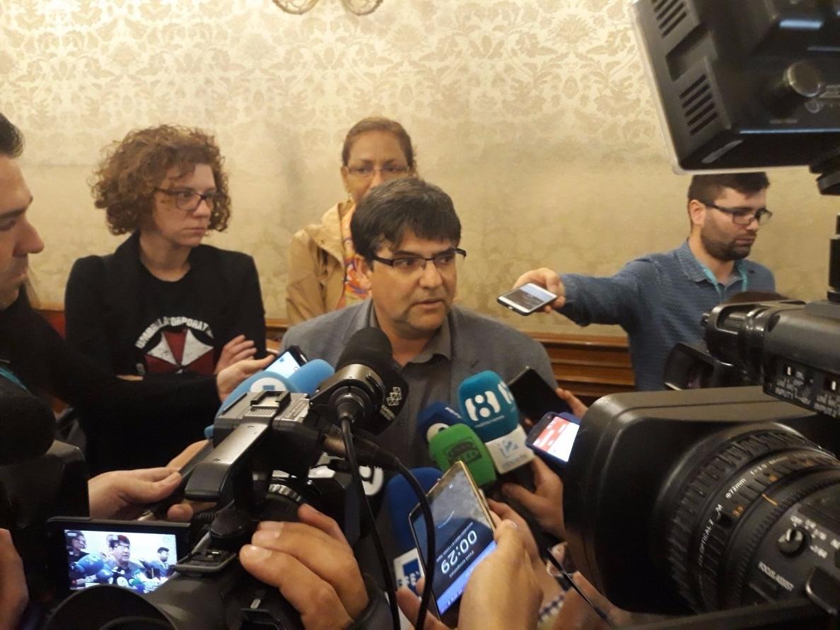 Guanyar Alacant acusa a Belmonte de actuar de forma «muy miserable» al permitir el regreso del PP a la Alcaldía