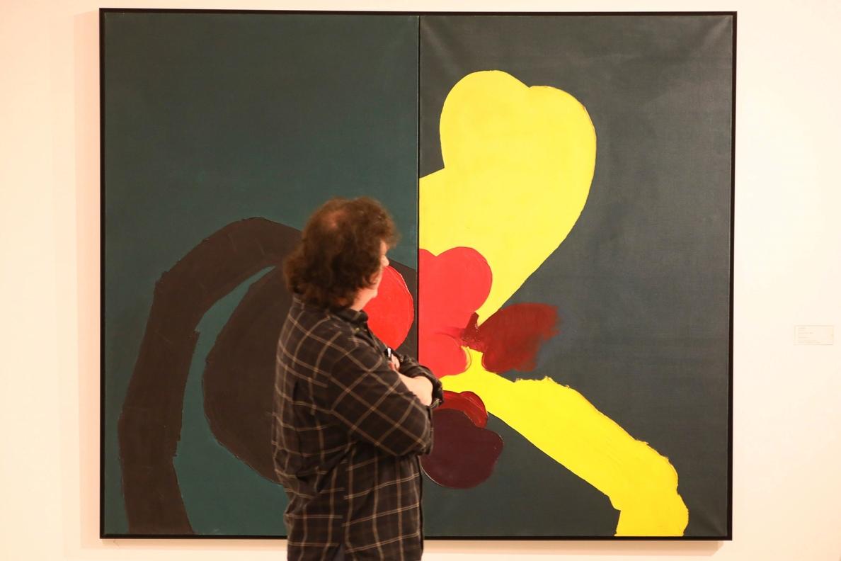 Obra de Tápies refleja el ansia de libertad del arte español en la dictadura