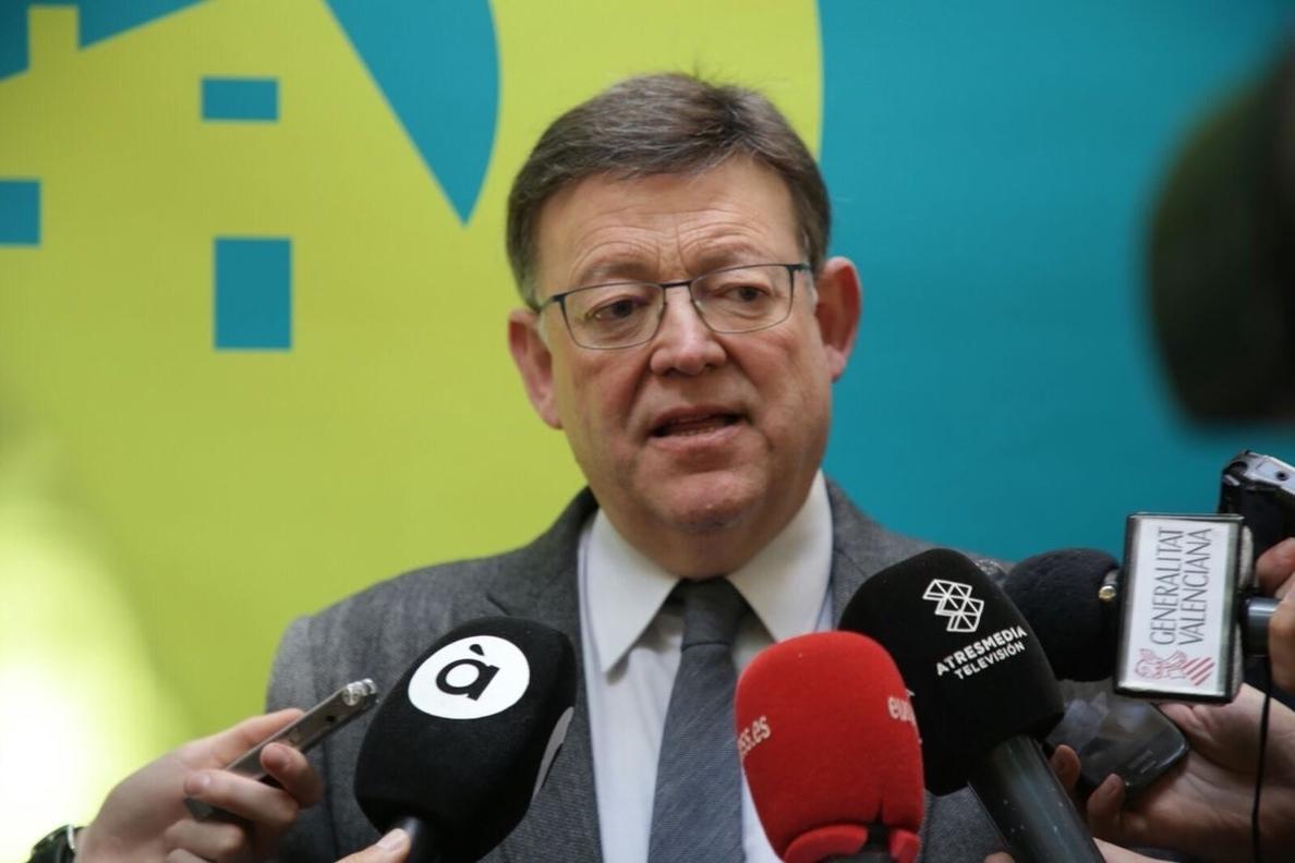 Puig dice que las fuerzas progresistas de Alicante no podían aceptar «ningún chantaje» y el PSPV ha actuado «con ética»