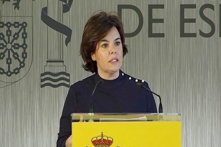 Santamaría ve «bueno» que Hacienda pueda aportar al juez la documentación sobre el control de los pagos de Cataluña