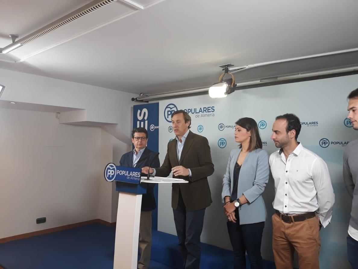 Hernando (PP) cree, tras «buen paso» de PNV, que PSOE «no tiene excusas» ante unas cuentas que «no pueden rechazar»