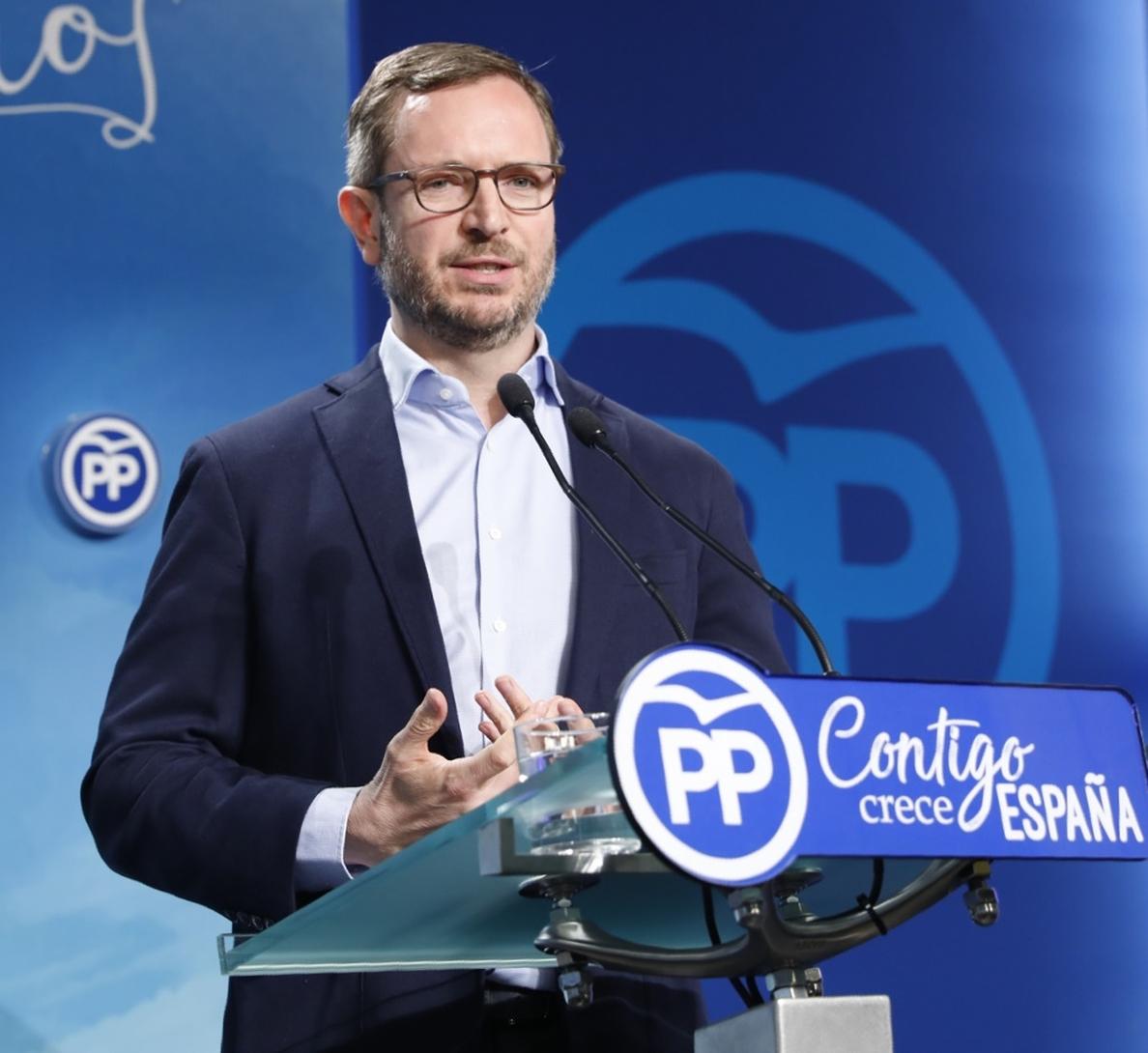 El PP avisa a ETA de que no obtendrá «ningún beneficio político» con su «último acto de propaganda «