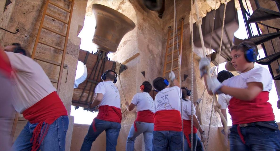 Albaida (Valencia) toca manualmente sus campanas por el Año Europeo del Patrimonio Cultural