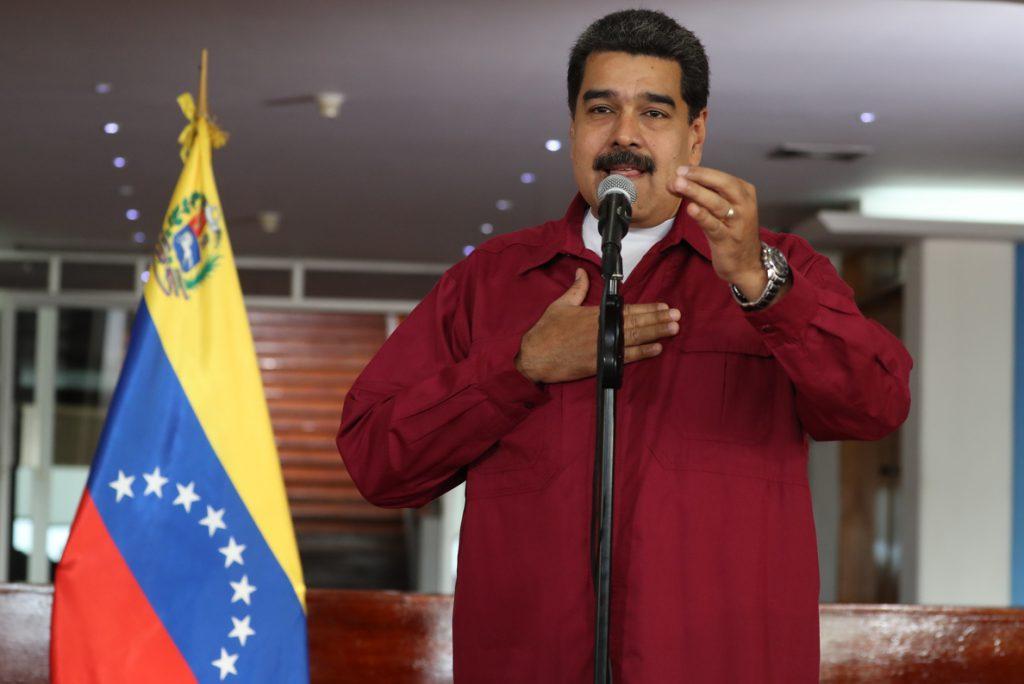 Díaz-Canel recibe a Maduro en el Palacio de la Revolución de la Habana