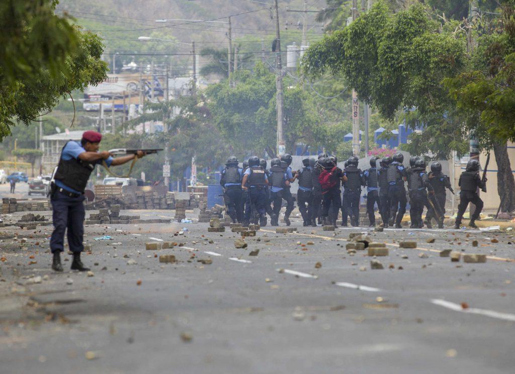 Denuncian saqueos y vandalismo en protestas de Nicaragua
