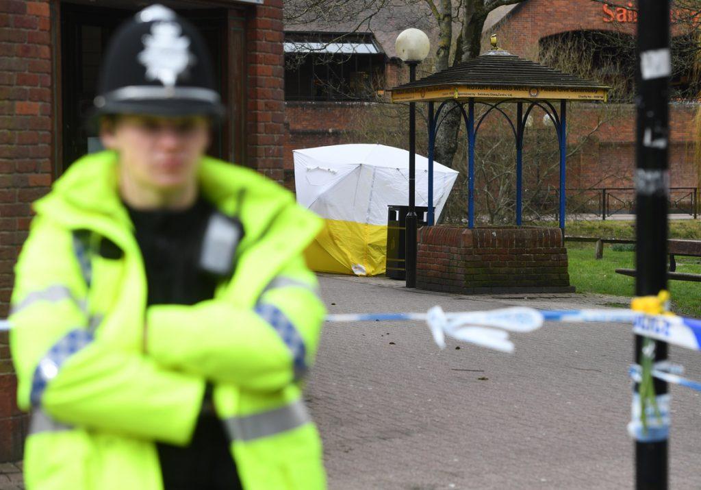 La policía identifica a los sospechosos del envenenamiento a los Skripal