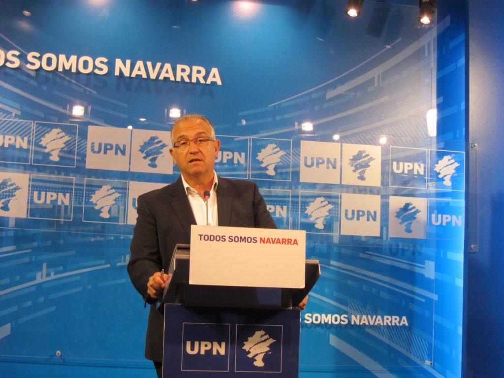 Enrique Maya, elegido candidato de UPN a la alcaldía de Pamplona con el 79% de los votos de la militancia