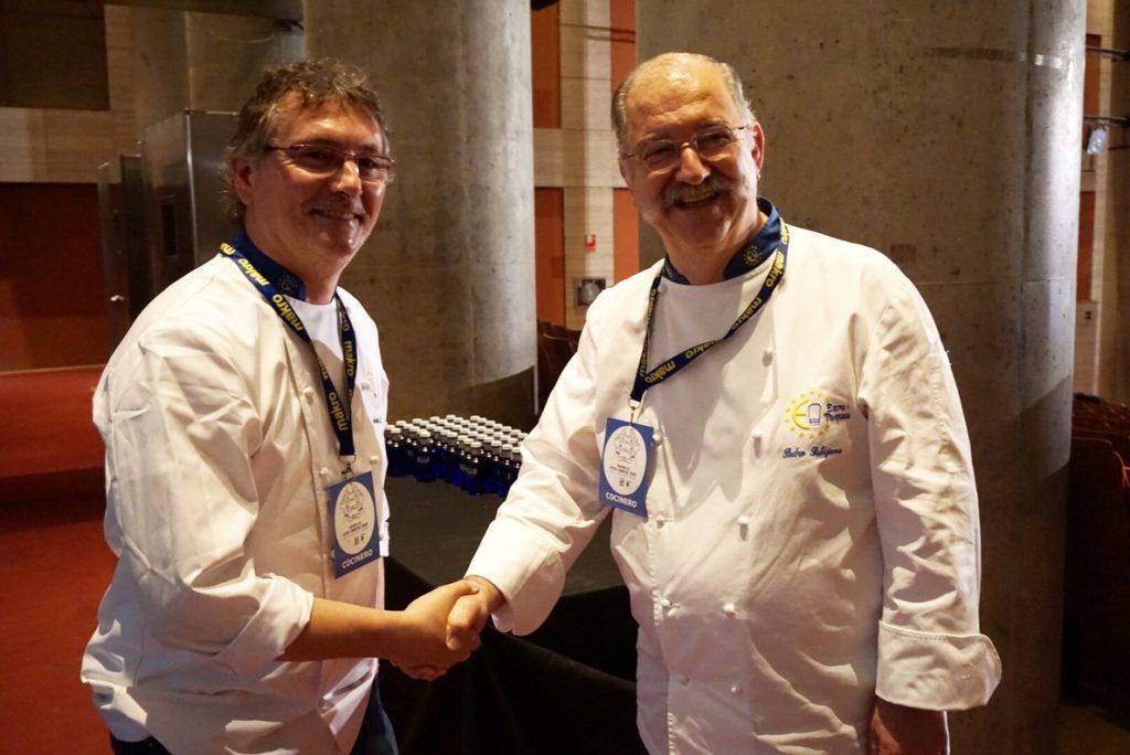 El chef Andoni Luis Aduriz sucede a Pedro Subijana el frente de la asociación gastronómica Euro-Toques