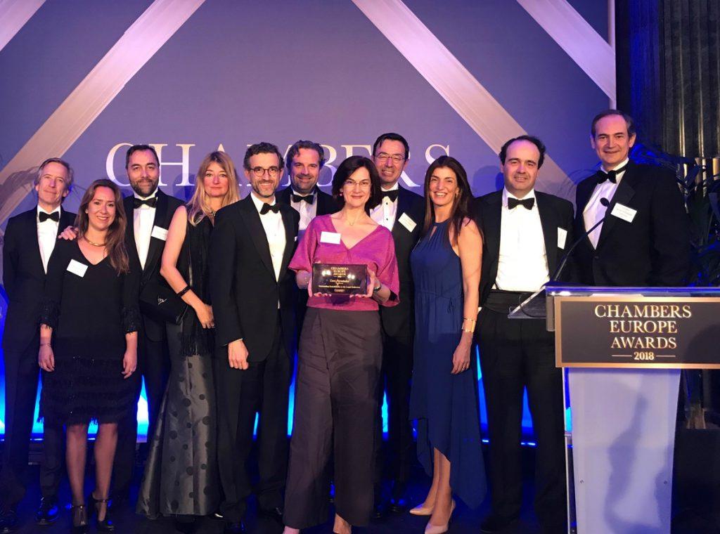 Los Chambers Europe Awards reconocen la contribución de una socia de Cuatrecasas a la profesión