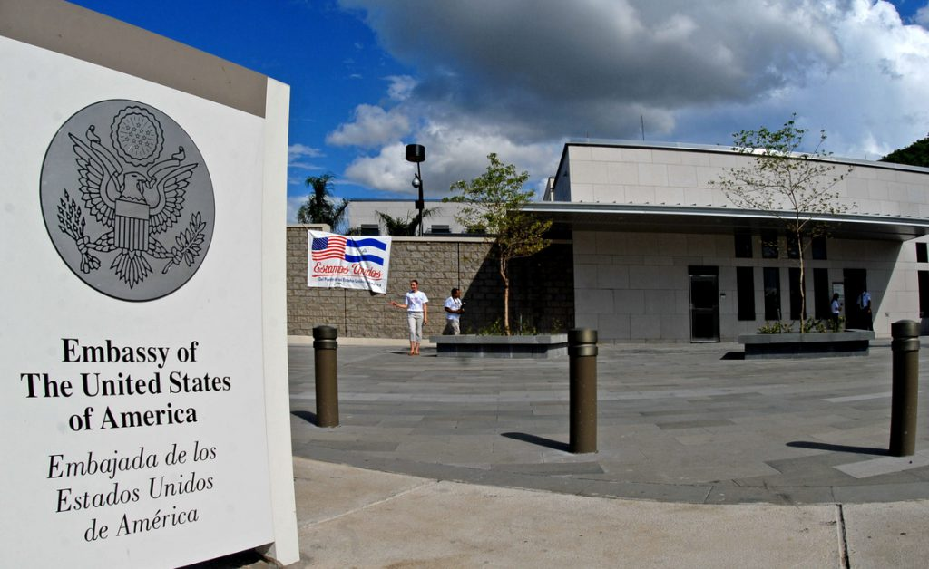 EE.UU. ordena la salida de Nicaragua de los familiares de diplomáticos por la crisis