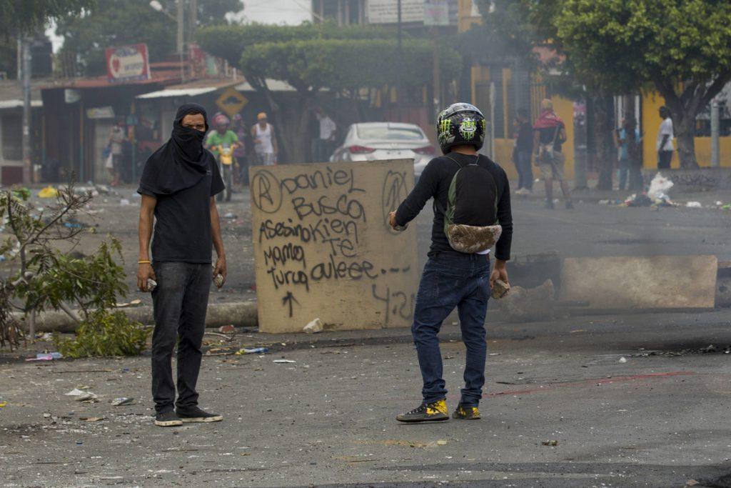 Estudiantes de Nicaragua quieren paz sin Daniel Ortega ni Rosario Murillo