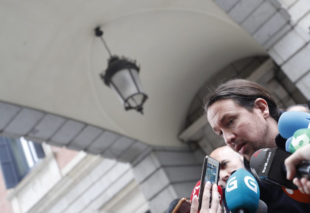Iglesias pide amparo a Dastis por «calumnias» de Israel contra Podemos