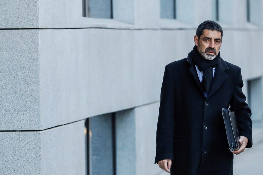 Lamela confirma el procesamiento de Trapero y sus antiguos jefes por sedición
