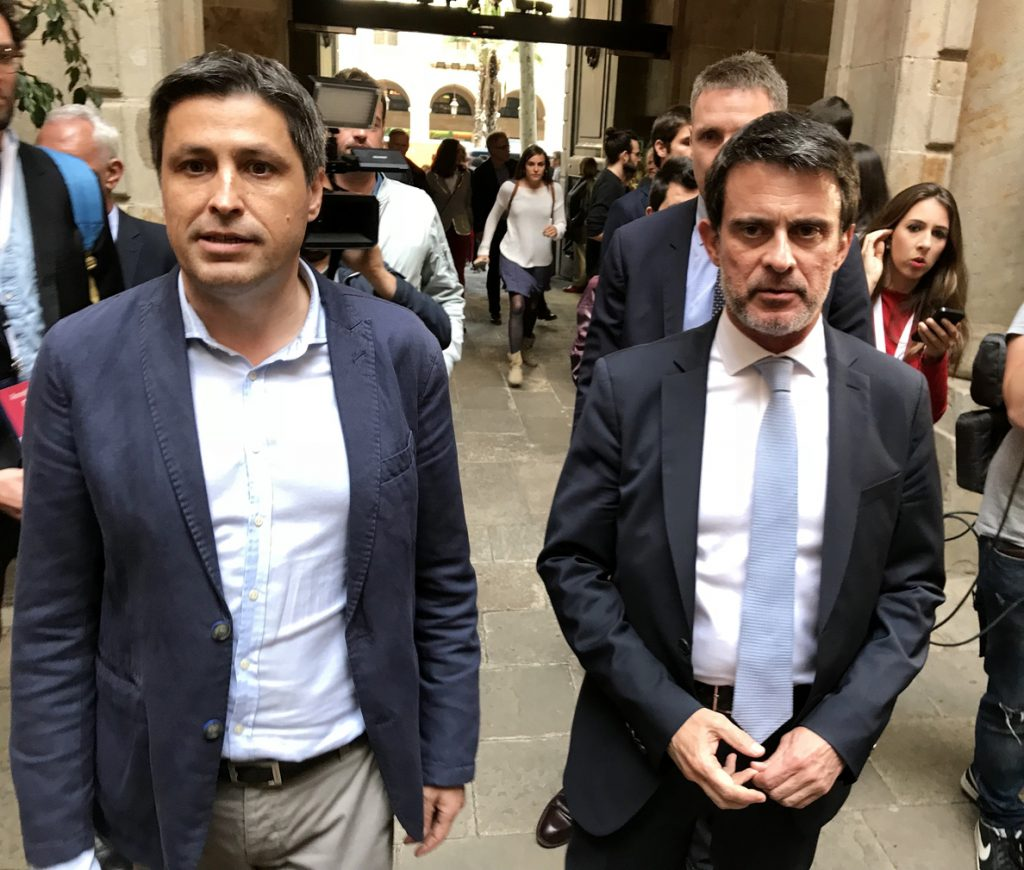 Manuel Valls abre la puerta a volver a Barcelona ante la «expectativa» creada