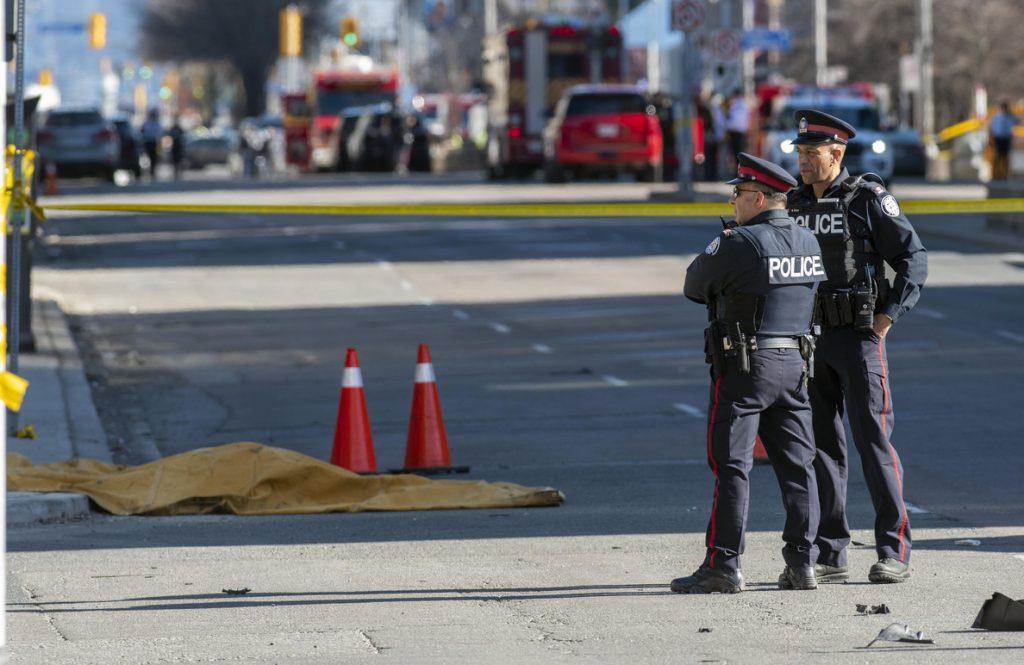 Al menos nueve muertos en un atropello masivo en Toronto (Canadá)