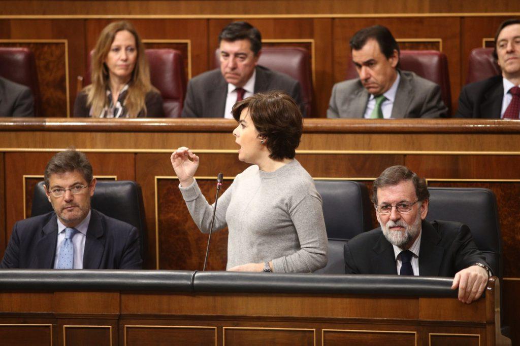 Santamaría dice que se tendrá que investigar si hubo «partidas falseadas» para el 1-O