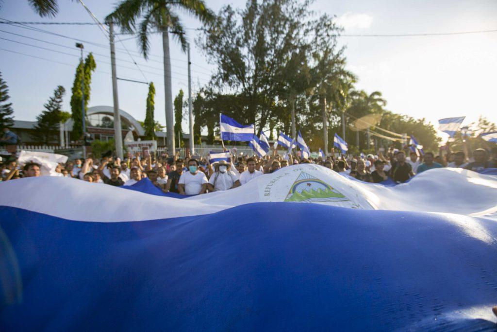 Calles vacías y ambiente enrarecido tras masiva movilización en Nicaragua