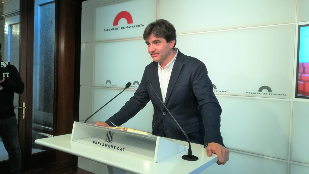 ERC defiende que Comín delegue el voto y vería un «sinsentido» que el Gobierno lo recurriera