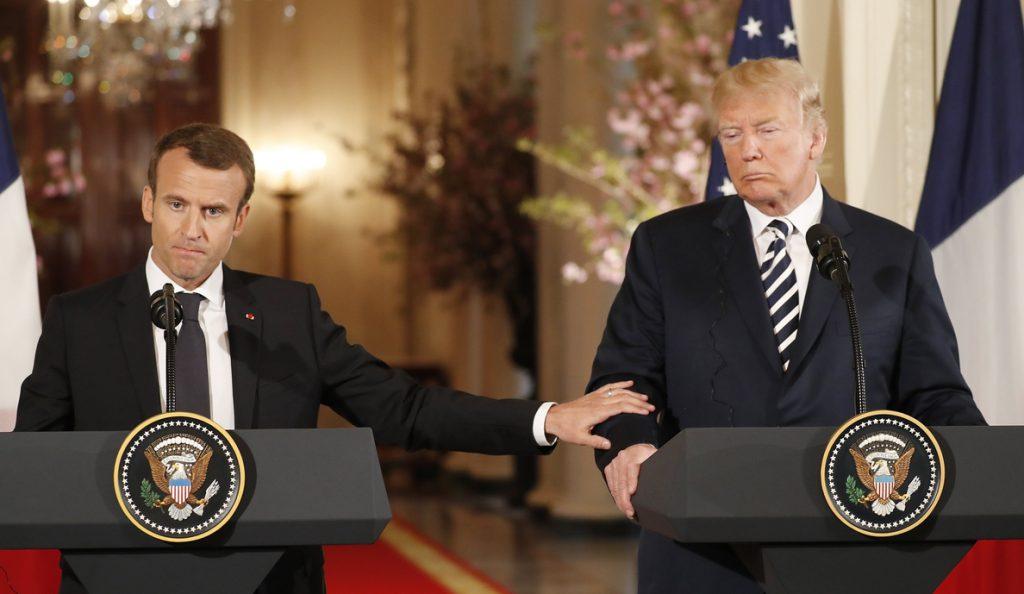 Macron descarta una «guerra comercial» entre «aliados» como EEUU y la UE