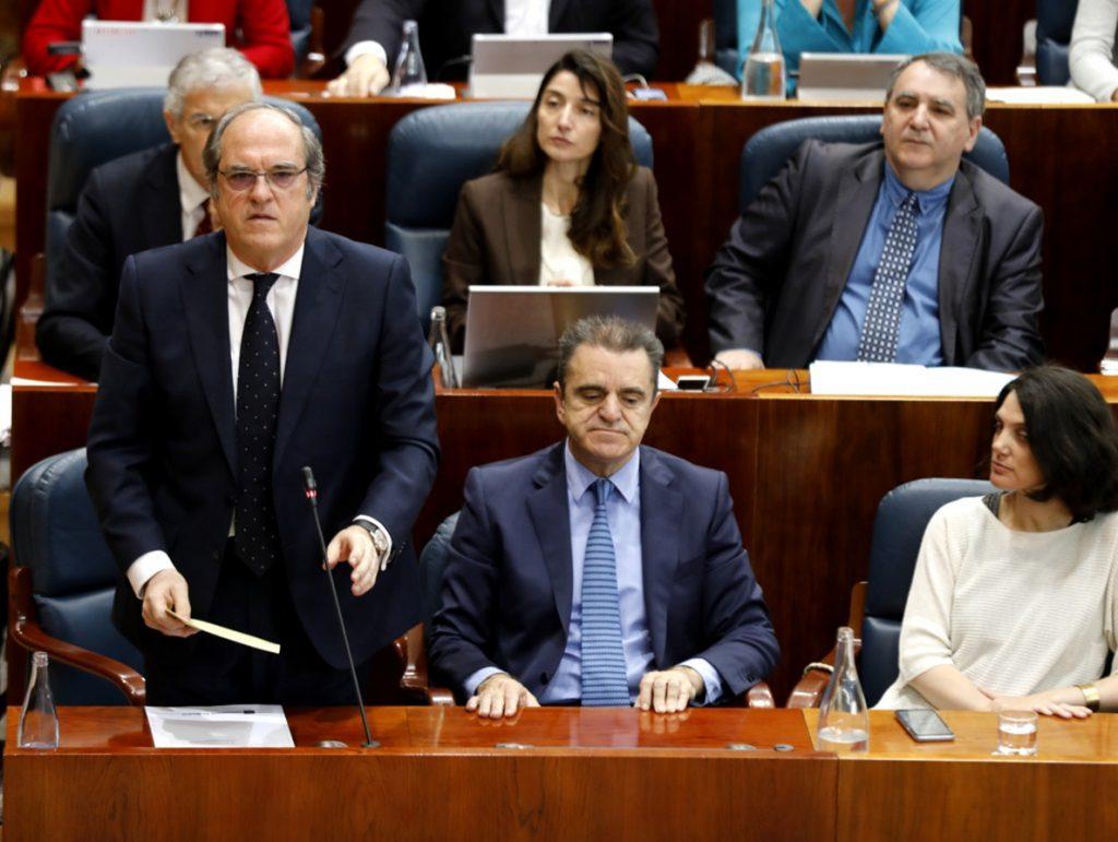 PSOE elabora un plan de 15 medidas para ejecutarlas de forma «urgente» si sale adelante la moción y preside la Comunidad