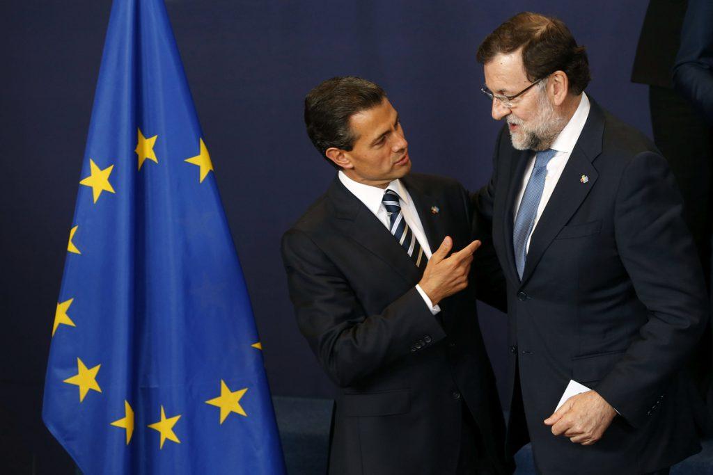 Peña Nieto será recibido mañana por los Reyes y Rajoy en una visita a España