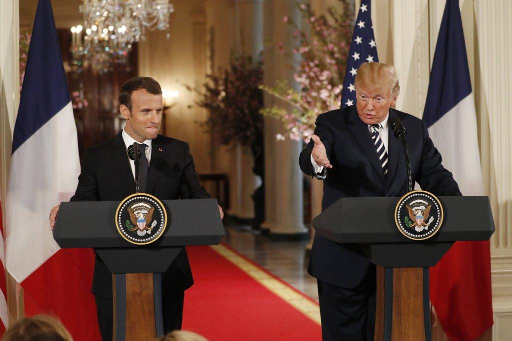 Trump y Macron abren la puerta a «un nuevo acuerdo» multilateral con Irán