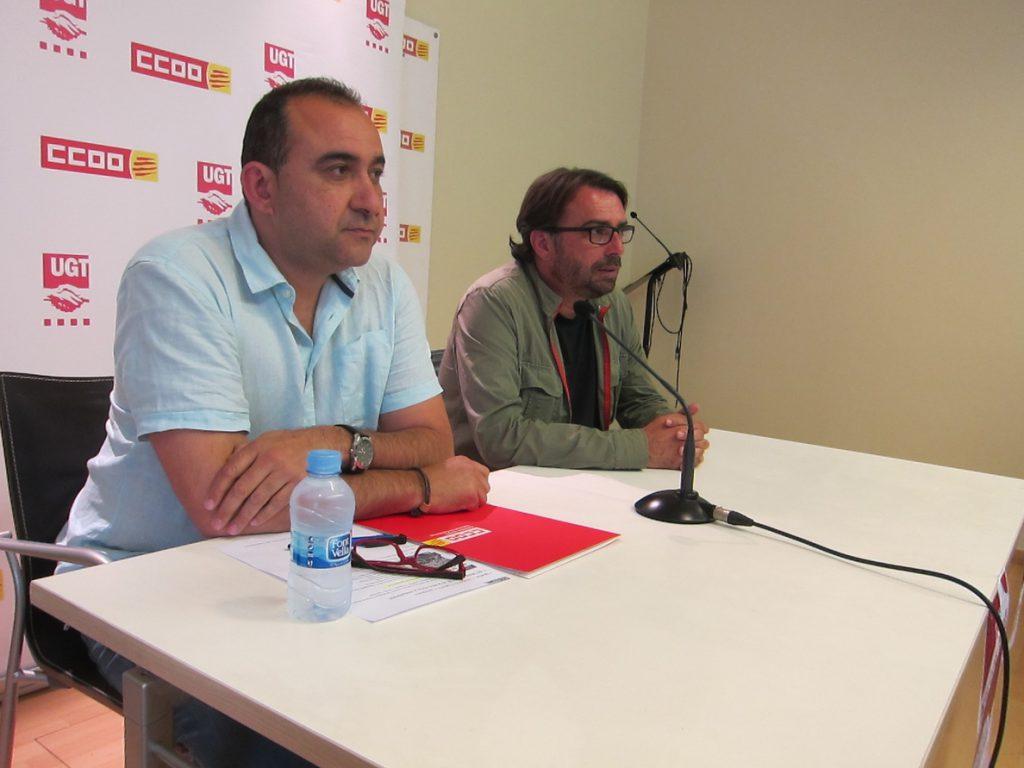 CC.OO. y UGT de Cataluña reivindican sumar luchas y organizaciones este 1 de mayo