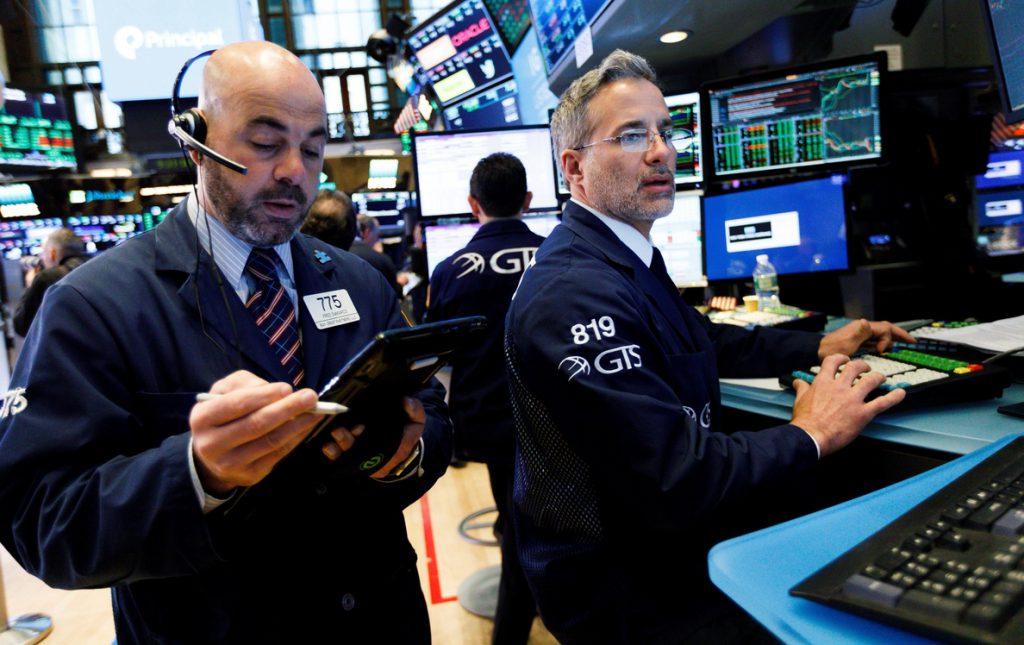 Wall Street entra en pérdidas a media sesión y el Dow Jones baja un 0,13 %