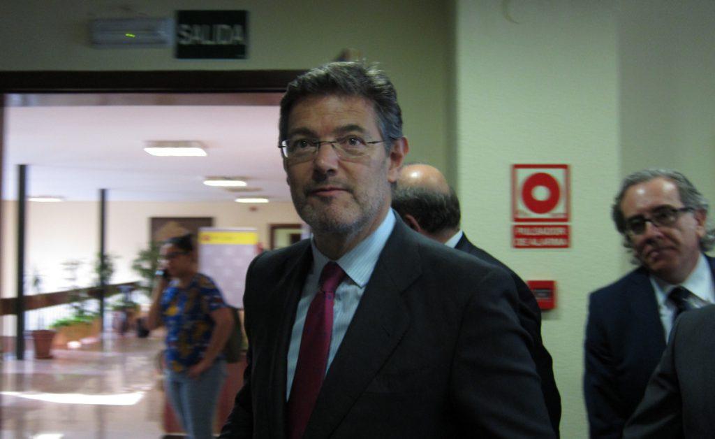 Catalá, tras la sentencia de 'La Manada', emplaza a una reforma del Código Penal «si es conveniente»