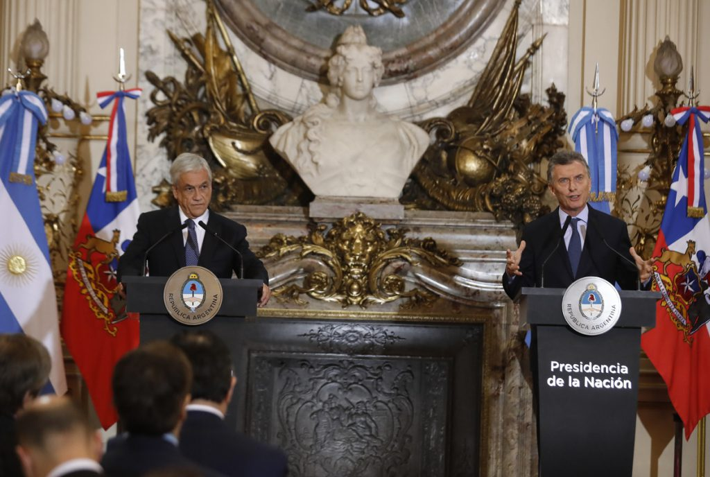 Macri y Piñera apuestan por potenciar la alianza comercial para reducir la pobreza