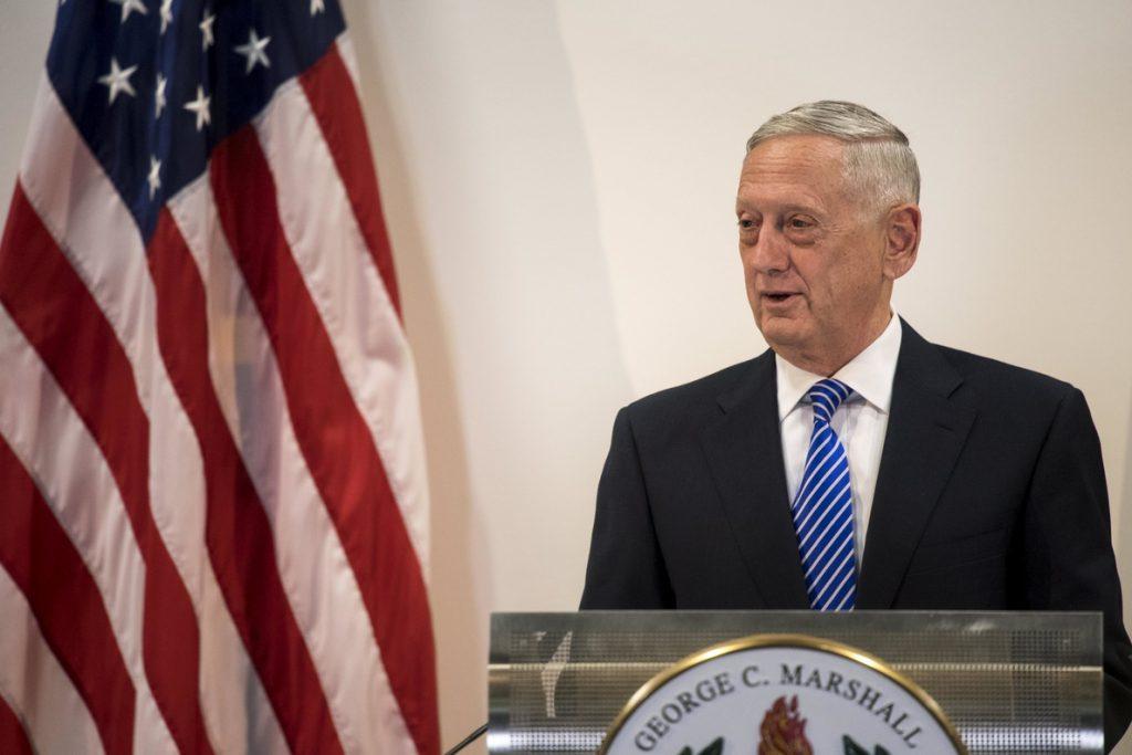 Mattis asegura que en EE.UU. aún no hay una decisión sobre el acuerdo nuclear con Irán
