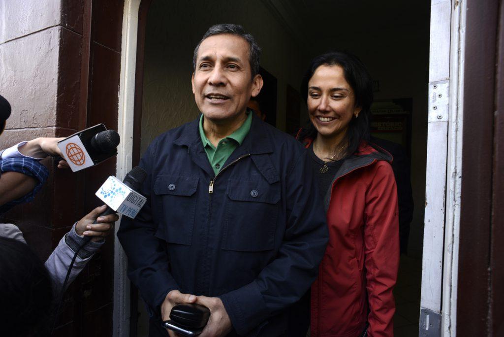 Tribunal Constitucional Perú revoca la prisión preventiva de Humala y Heredia