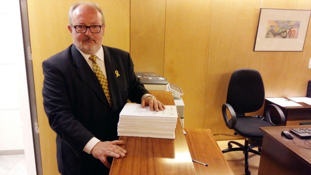 ERC quiere mover 30.500 millones de Fomento en los Presupuestos dentro de sus mil enmiendas a las cuentas