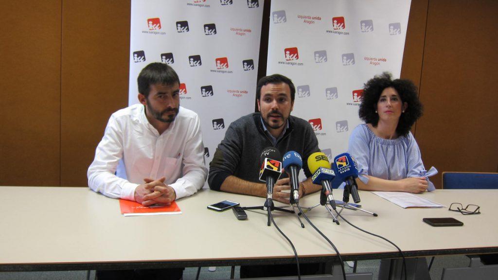 Garzón (IU) defiende una confluencia entre partidos de izquierda que «muestre la diversidad»