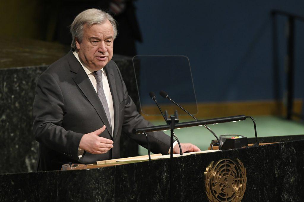 Guterres alaba los «importantes compromisos» de la cumbre intercoreana y ofrece la ayuda de la ONU
