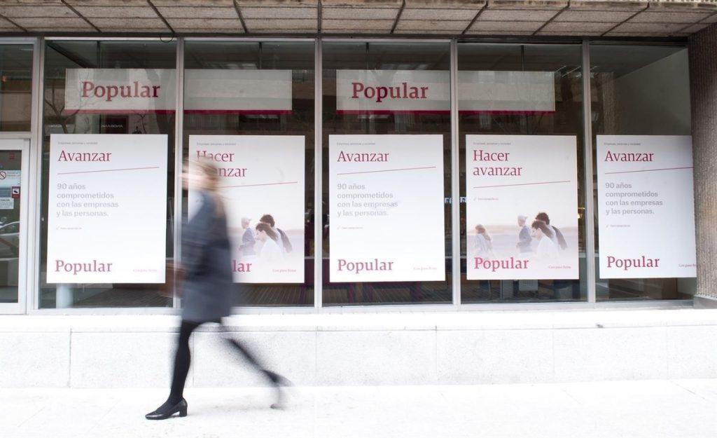 Moody's sube tres escalones el rating de Banco Popular, hasta 'A2'